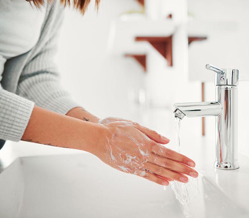 Influensa/Corona - Guide til riktig håndvask